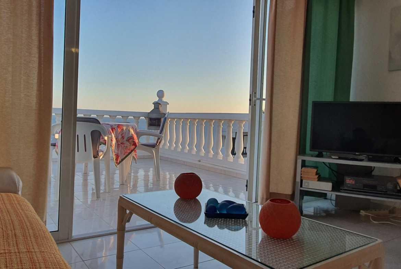 Meerblick Teneriffa Urlaub Las Americas Wintergarten und Terrasse
