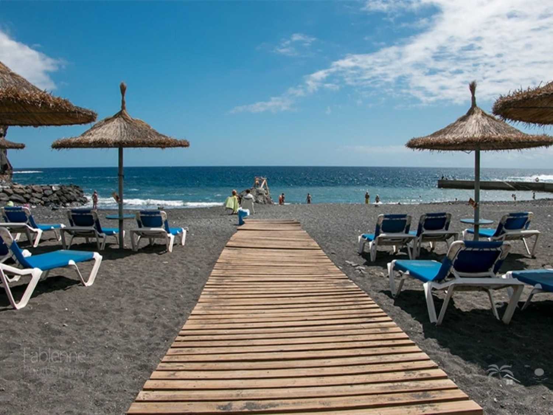 Sommer Sonne Meer Urlaub Teneriffa Ferien Strand
