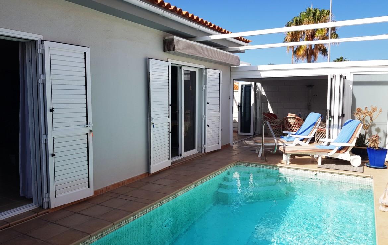 beheizbarer Pool / heated pool possible