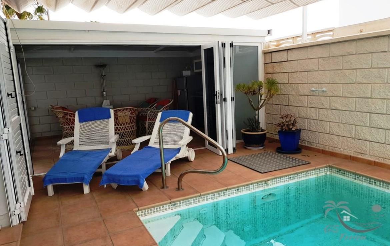 beheizbarer Pool / heated pool