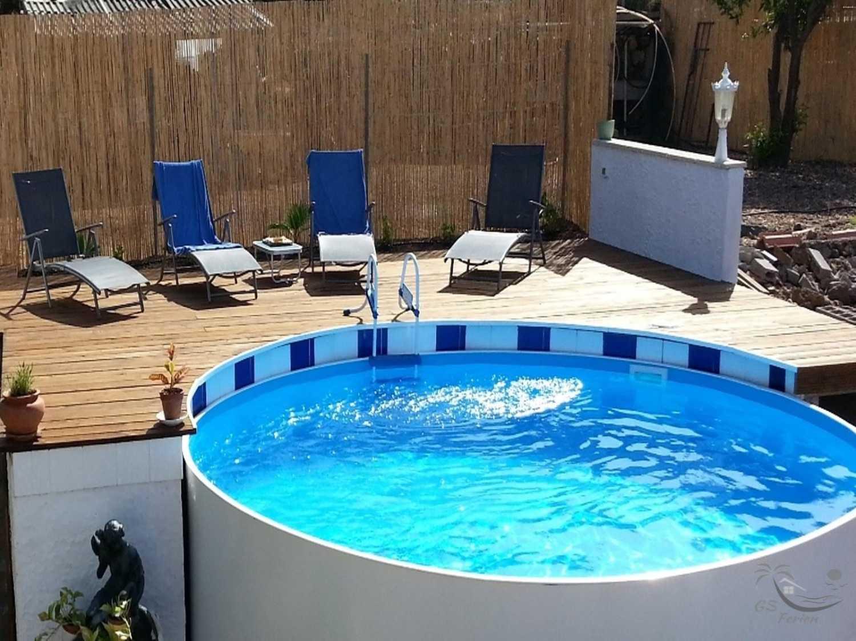 Urlaub Meerblick Teneriffa Süd Pool Finca Ferien